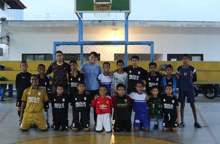 Tim Futsal SD Pelita Permai Surabaya.