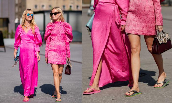 Pemakaian sandal jepit bisa dipadukan dengan gaya busana yang modis dan trendy