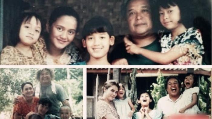 Para pemeran tokoh dalam serial Keluarga Cemara