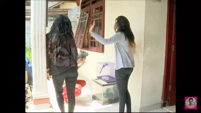 Hunian Ovi eks Duo Serigala saat bersama Pamela