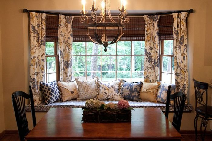 Menyesuaikan jendela dan tirai rumah