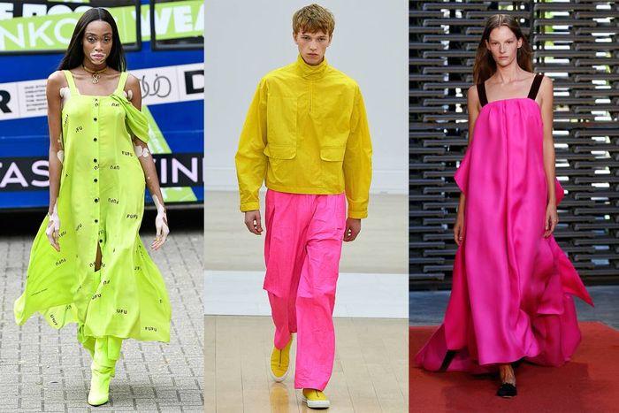 Tren fashion 2019: paduan busana warna neon