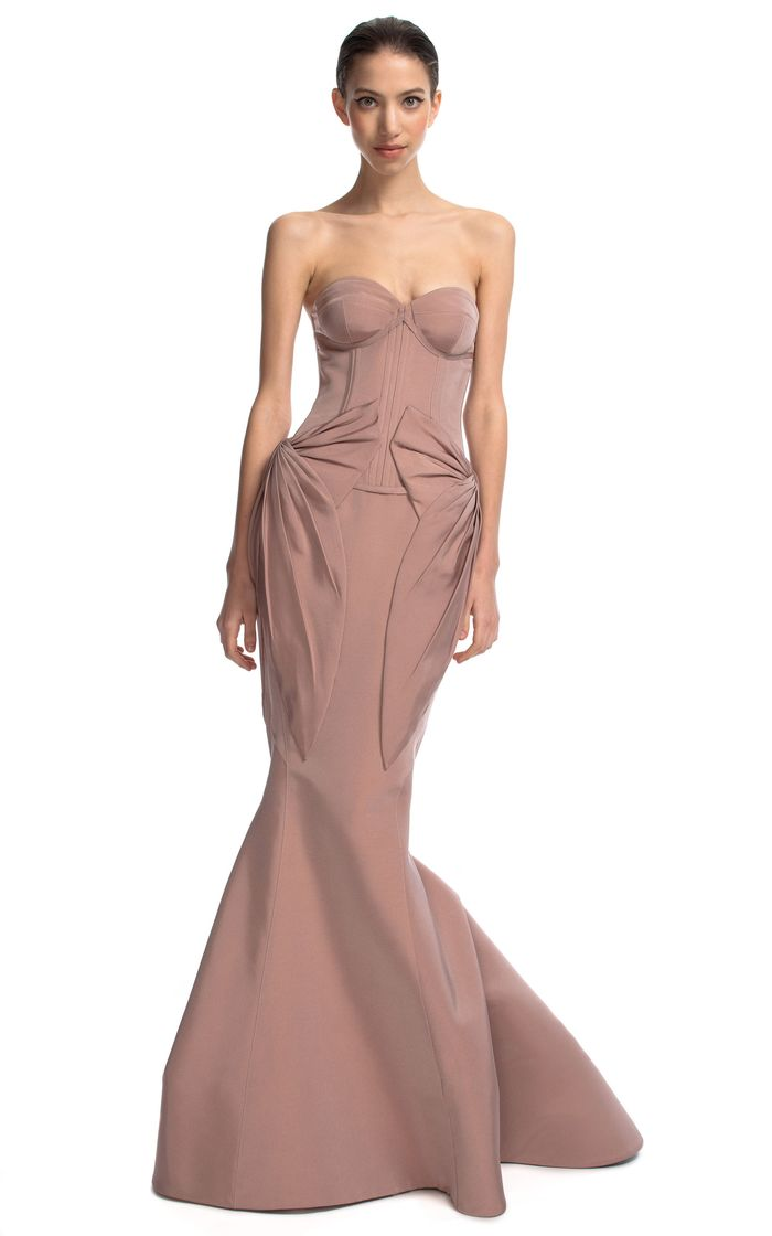 Bustier gown