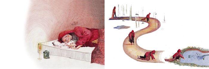 Karya ilustrasi dari Aurora Arazzi yang menang di ICCRF