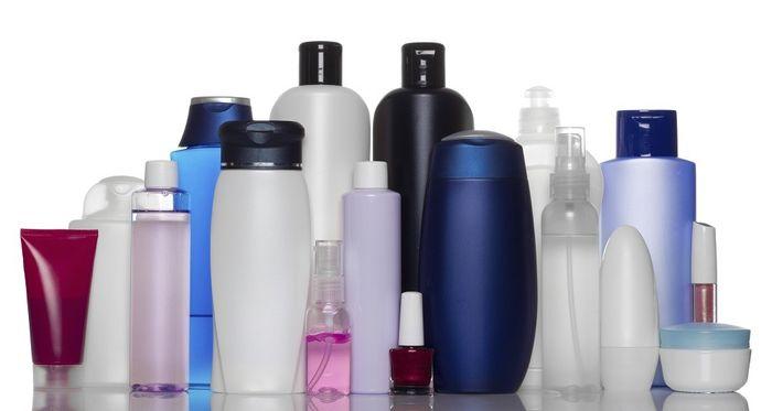 botol plastik skincare