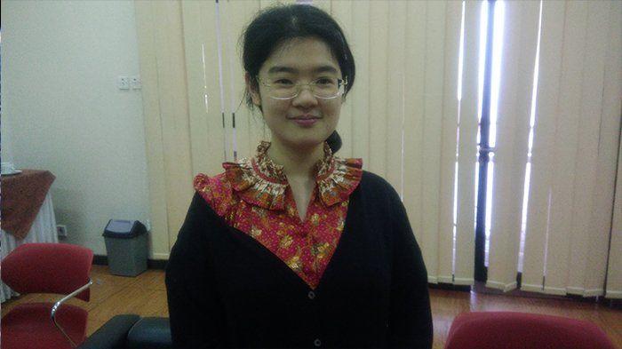 Audrey Yu Jia Hui (29) seorang jenius dan pemikir kritis yang cinta Indonesia