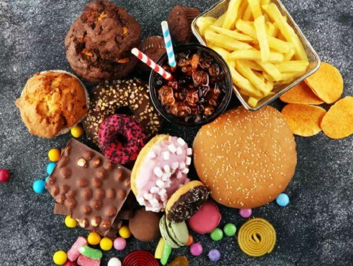 Ilustrasi makanan.