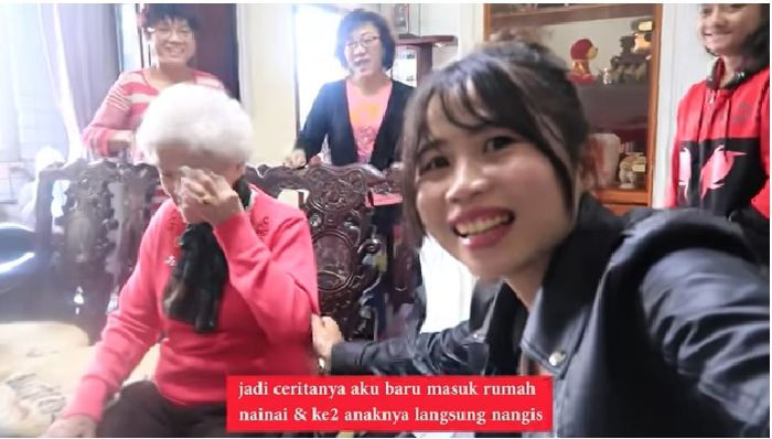 Tangis Haru Nenek Asal Taiwan saat kembali bertemu TKW Indonesia yang Telah Merawatnya Selama 3 Tahun: Aku Kangen Kamu