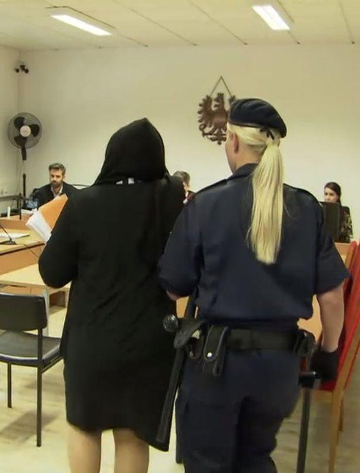 Wanita ini akhirnya ditangkap polisi