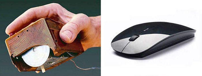 Tak menyangka kan ternyata mouse untuk menggerakan kursor komputer asal muasalnya benar-benar seperti tikus.