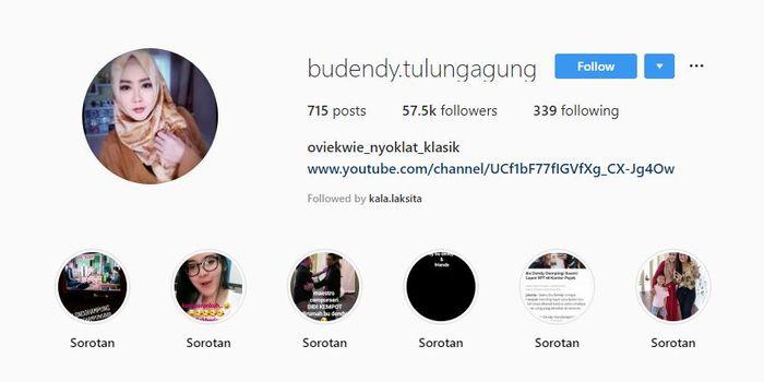 Instagram milik Bu Dendy punya lebih dari 55 ribu pengikut