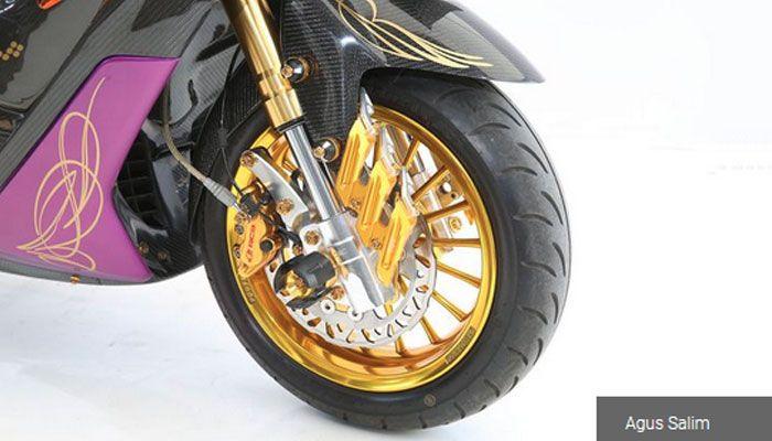 Yamaha NMAX milik Andri Hasrullah modalnya jor-joran