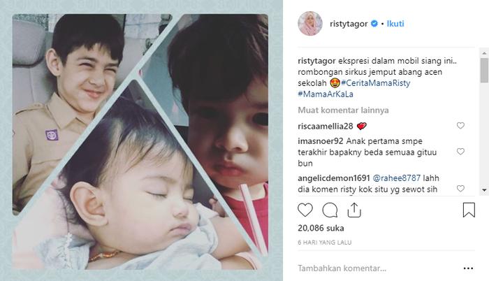 Anak-anak <a href='https://pontianak.tribunnews.com/tag/risty-tagor' title='RistyTagor'>RistyTagor</a>