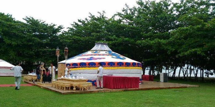 Ger, tenda khas Mongolia.