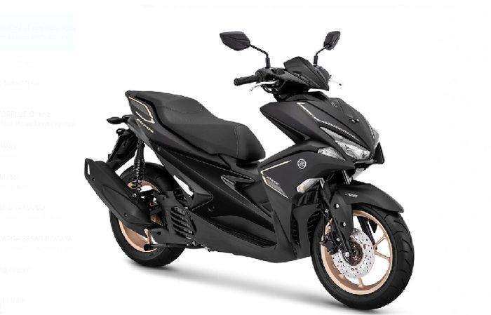 Yamaha Aerox S Warna Hitam
