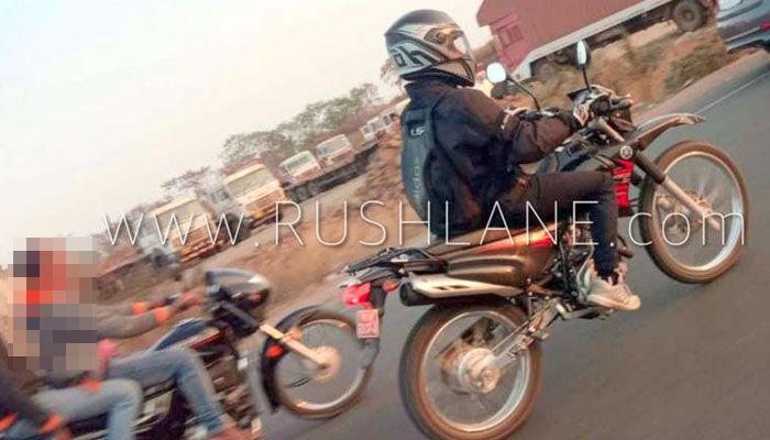 spyshoot Yamaha XTZ125 di jalanan India