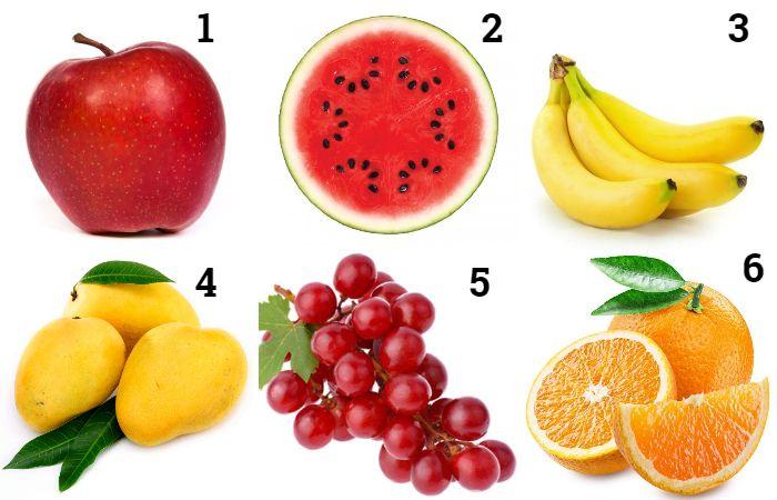 Tes kepribadian menggunakan buah kesukaan