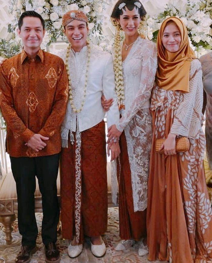Alyssa Soebandono saat menghadiri pernikahan Baim Wong dan Paula Verhoeven