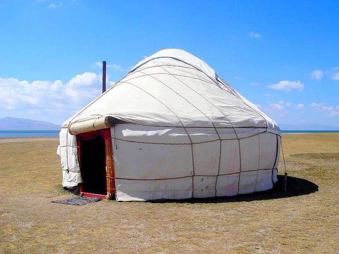 Yurts (Kyrgyztan, Asia Tengah)