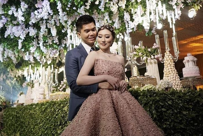 Pernikahan Jusup dan Clarissa Wang