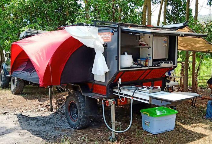 Camper trailer Teardrop 2.0 Samarauke