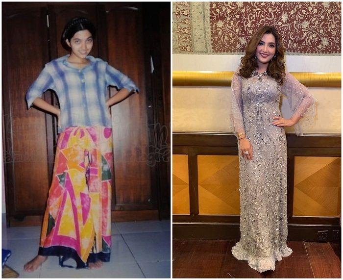 Penampilan Ashanty dahulu dan sekarang