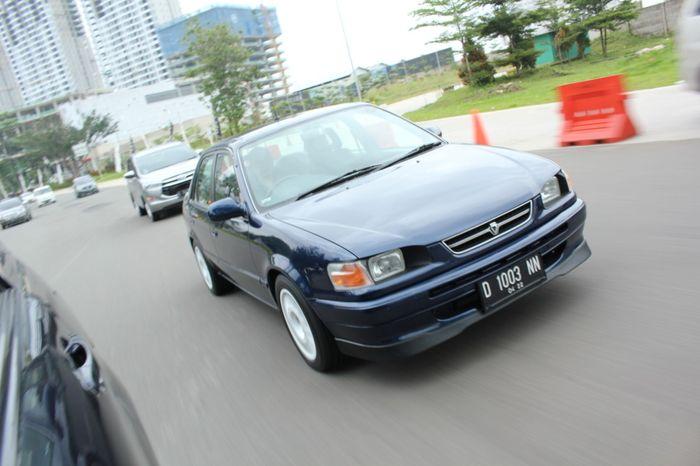Corolla jadi lebih sporty dengan gaya rally