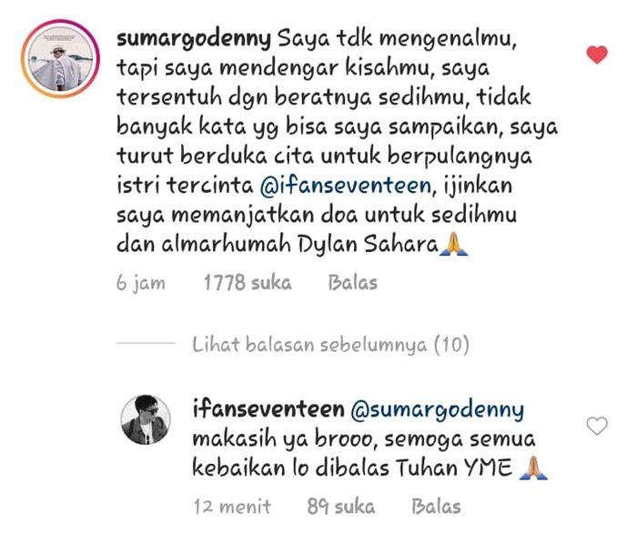 komentar Denny Sumargo