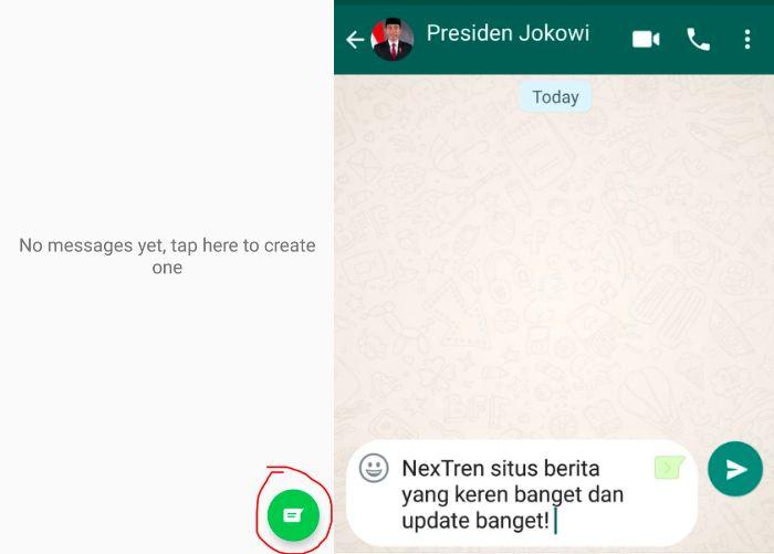 Tips WA: Cara Membuat Chat WhatsApp Palsu