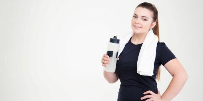 Ilustrasi wanita bertubuh gemuk