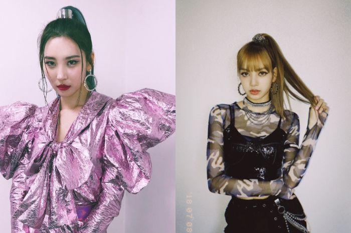 Tren model rambut 2019 ala selebriti Korea: high ponytail