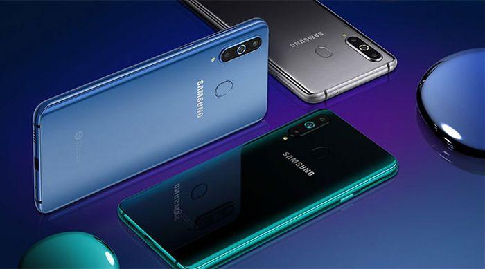 Ilustrasi Samsung Galaxy S10.