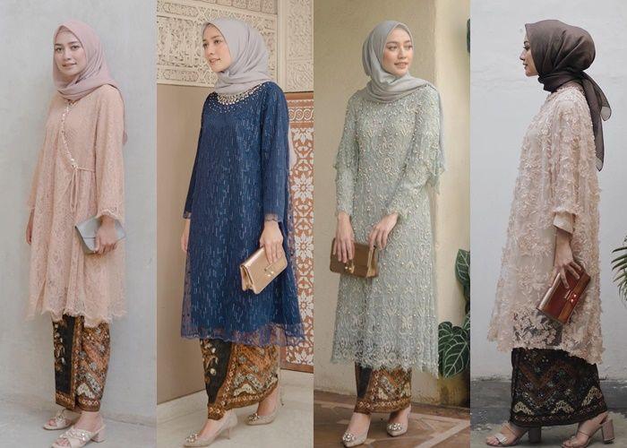 Prediksi Tren Kebaya Hijab 2019 Menurut Fashion Desainer Tanah Air