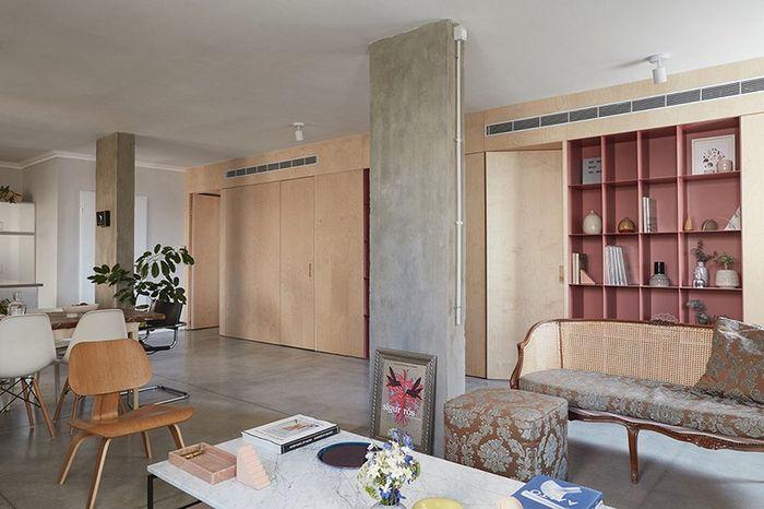 Apartemen keluarga karya Studio Thisisit