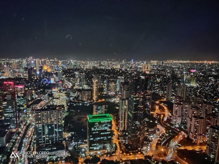 Hasil Foto Night Mode dengan OPPO R17 Pro