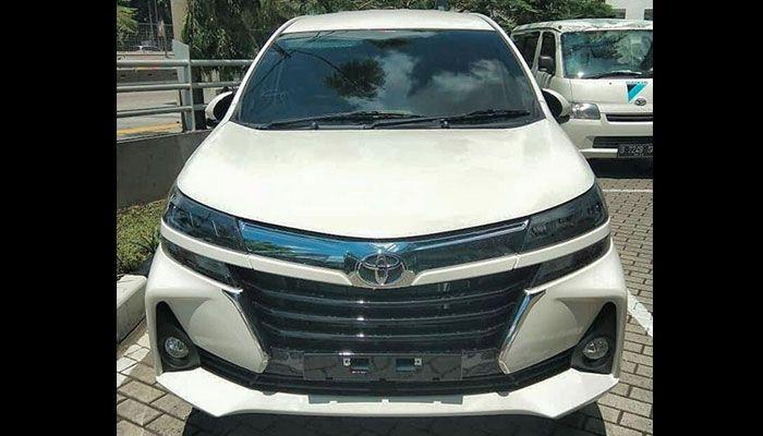 Bagian depan Toyota Avanza 2019