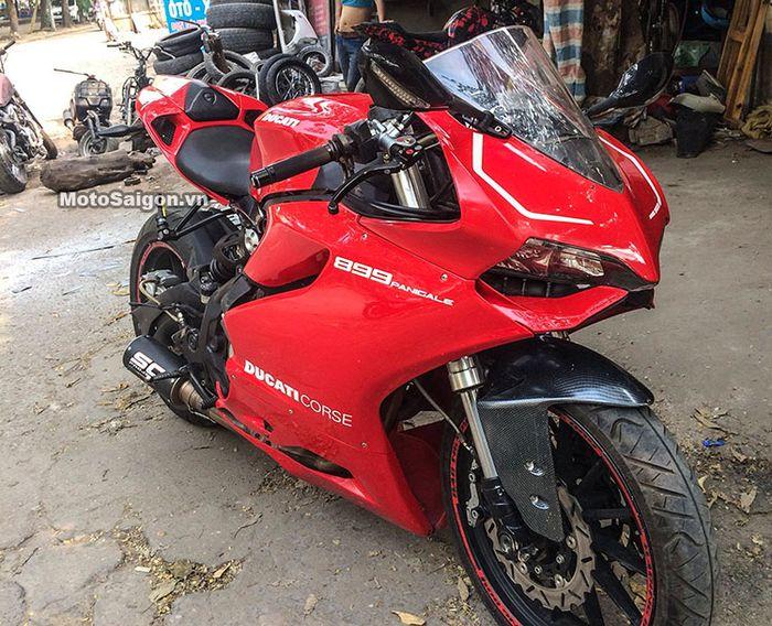 Ducati Panigale gadungan, aslinya Benelli BN302