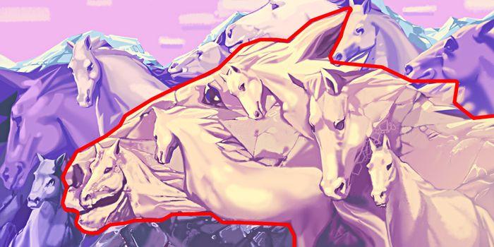 Berapa banyak kuda yang Anda lihat?