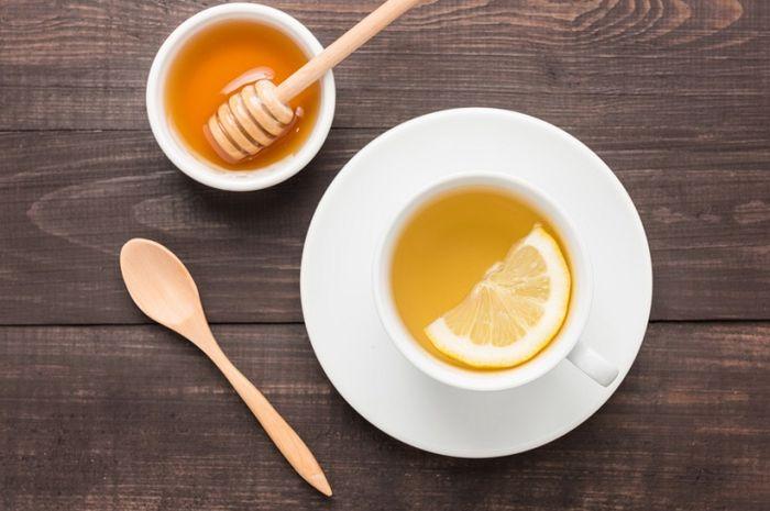 Teh lemon dan madu