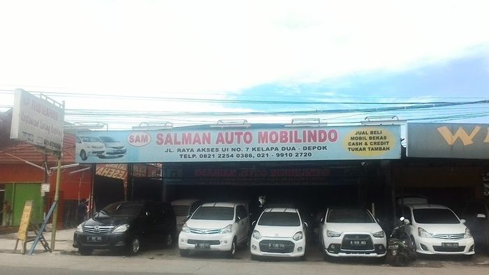 Salman Auto Mobilindo Showroom Mobil Bekas Depok