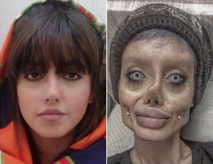 Potret Sahar Tabar, wanita penggemar Angelina Jolie
