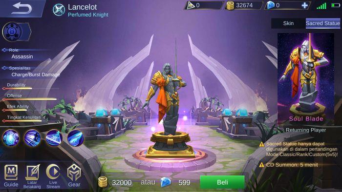 Sacred Statue Lancelot