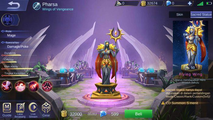 Sacred Statue Pharsa