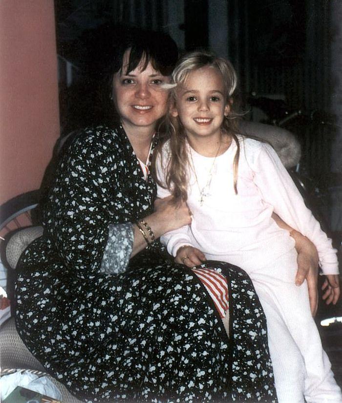 JonBenét Ramsey dan ibunya.