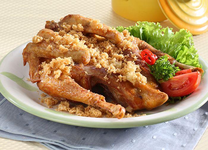 Ayam Goreng Kremes Ala Resto