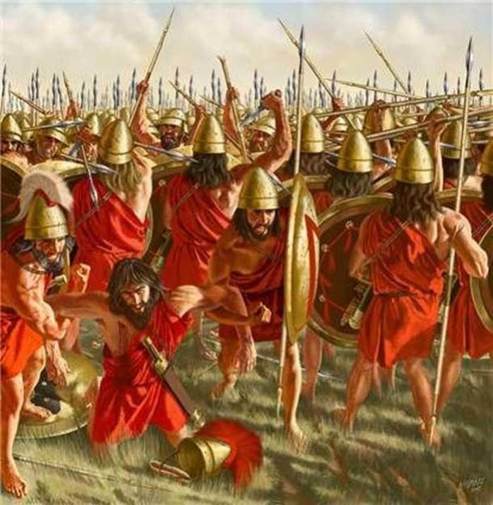 Pertempuran antara Boeotians dan Spartan