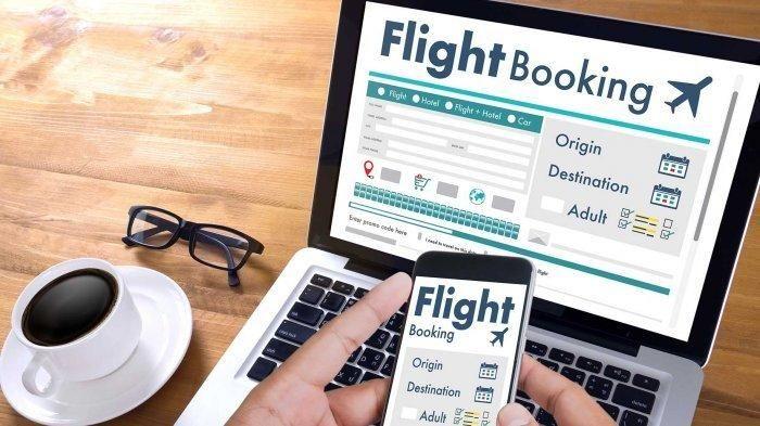 Ilustrasi beli tiket pesawat