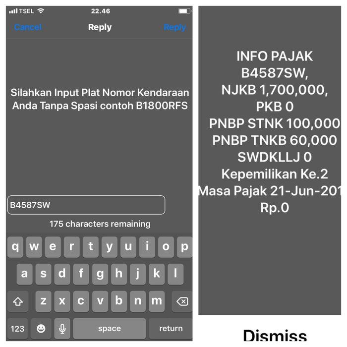 Layanan SMS yang memudahkan