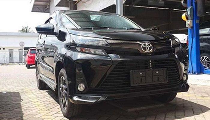 Tampang depan New Toyota Veloz