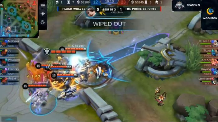Flash Wolves ID VS The Prime MPL ID S3